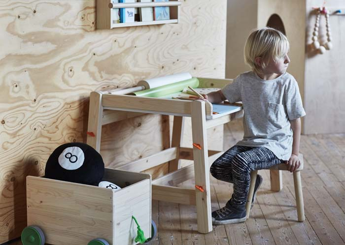 ikea launches a new family of children s furniture and storage poppytalk. Black Bedroom Furniture Sets. Home Design Ideas