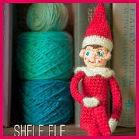 Shelf el elfo amigurumi