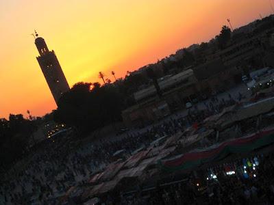 Atardecer en Marrakech
