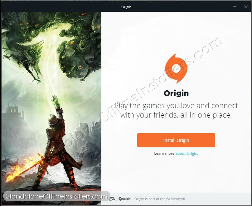 Origin 10.4.17 by EA 32-bit (x86) 64-bit (x64) Standalone Offline Installer for Windows | logo