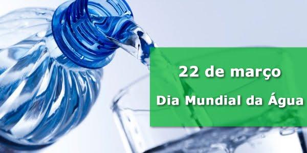 Atividades dia da água - 22 de Março
