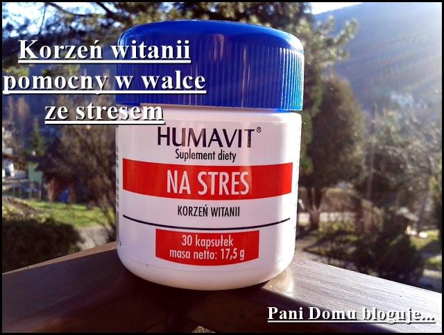 witania, suplement, ashwagandha, na stres, recenzja, zdrowie, blog, pani domu, humavit