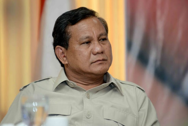 Kapok Dengan Elit Partai Politik di Jakarta, Prabowo