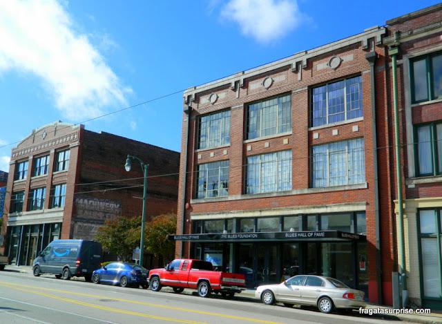 Museu do Hall da Fama do Blues, em Memphis, Tenessi
