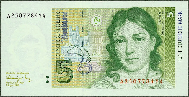5 Deutsche Mark banknote