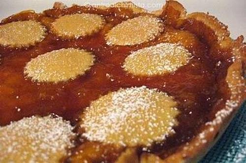Crostata con Marmellata di Arance, ricetta Bimby