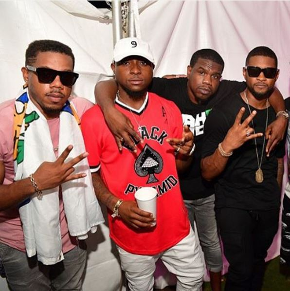 Shaggy, Davido, Akon, Don Jazzy, Usher Raymond, Tiwa Savage, Rich Homie Quan,Dr SID, R.City, Olatunji, Dammy Krane