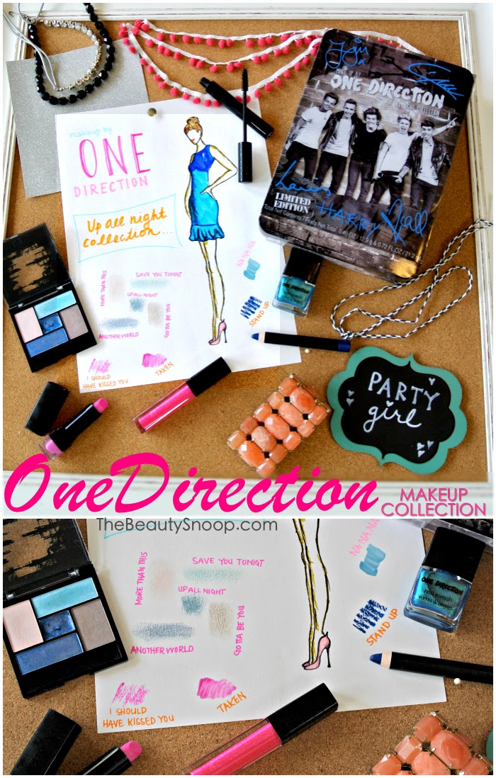 makeup by One Direction, One-D Makeup collection