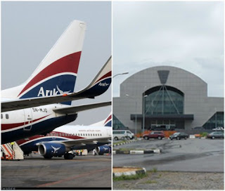 Arik Aircraft returns to Lagos over inability to land at Asaba Airport