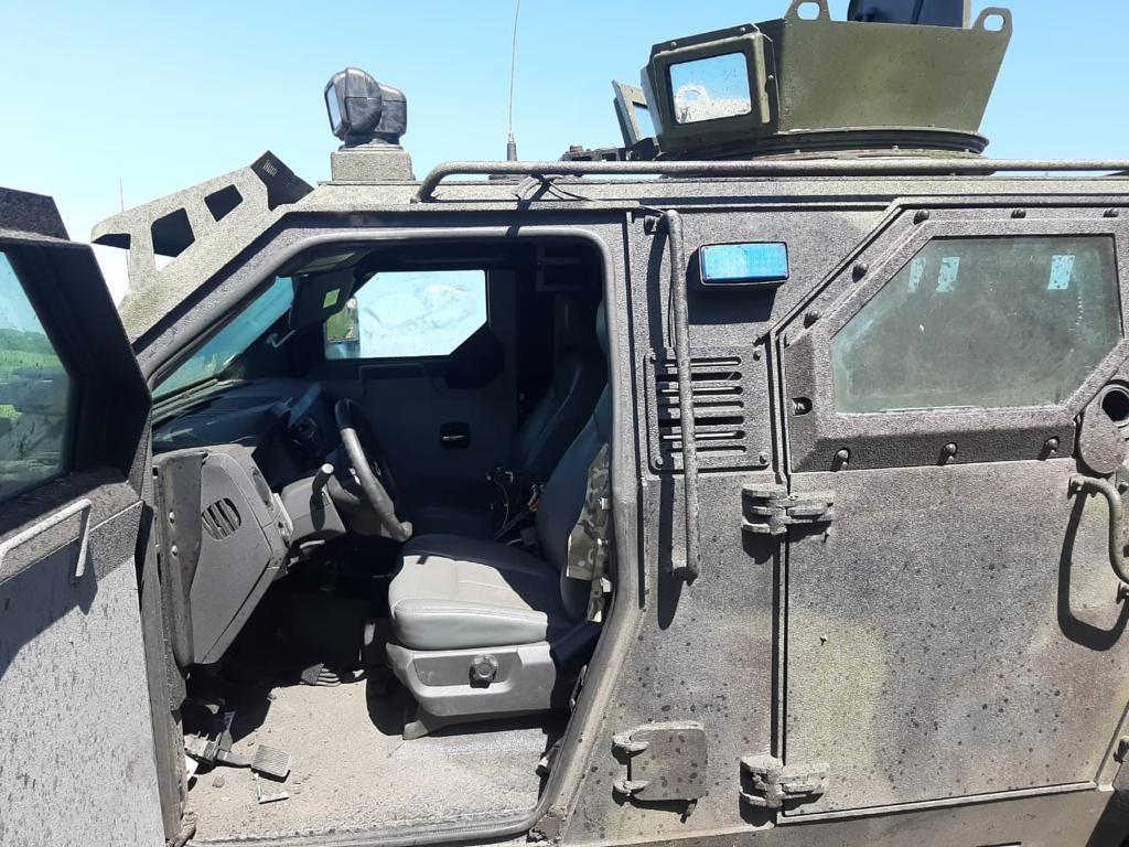На Донбасі підірвався «Спартан» – 10 військових травмовано