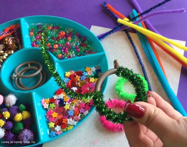 Curtain Ring Craft Activity