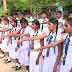 மட்டு- மஞ்சந்தொடுவாய் பாரதி வித்தியாலய  மாணவ தலைவர்களுக்கு  சின்னம் சூட்டும் நிகழ்வு