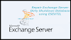 How to Repair Exchange 2010 Database Existed in Dirty Shutdown Using ESEUTIL