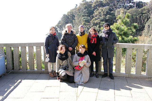 江島神社と江ノ島岩屋