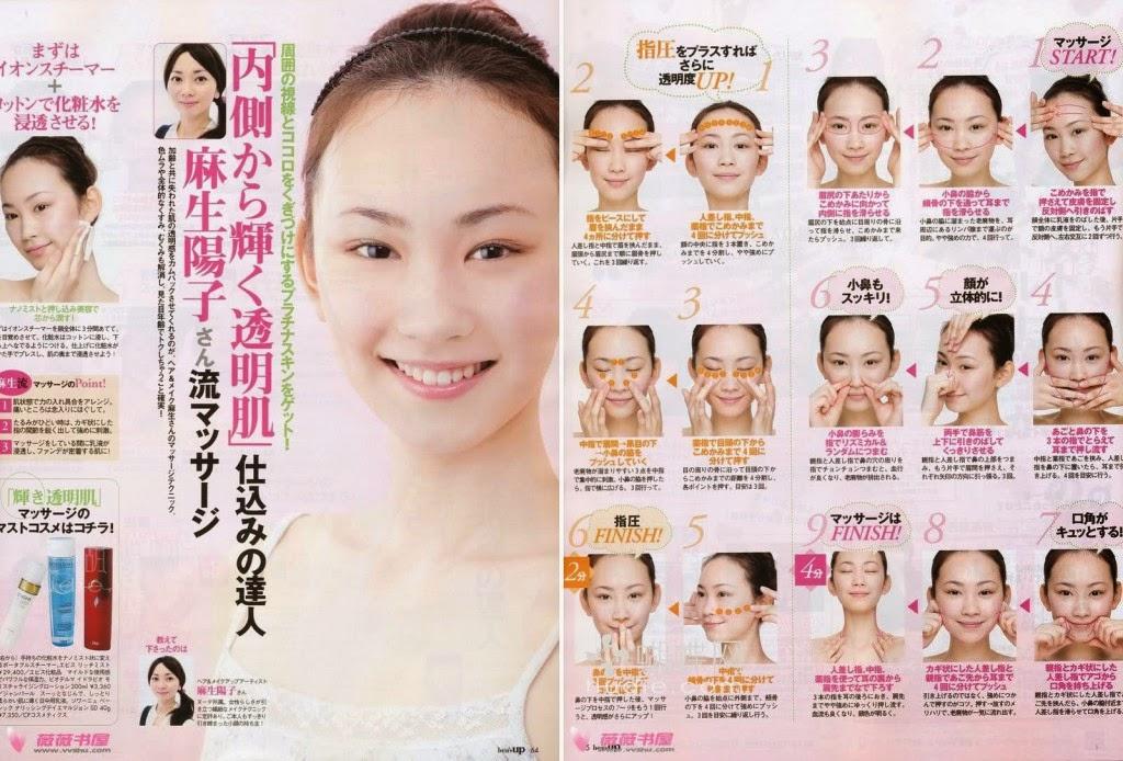 masaż twarzy tanaka