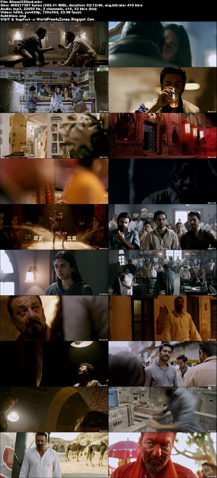 Bhoomi (2017) Hindi HDRip 480p 400MB Full Movie Free Download And Watch Online Latest Bollywood Hindi Movies 2017 Free At WorldFree4uZonee.Blogspot.Com