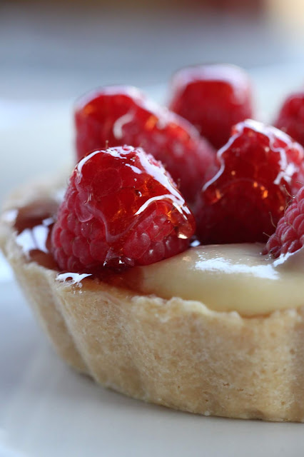French Raspberry Tart | Tortillas and Honey
