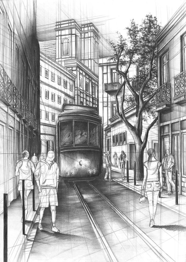 05-Lisbon-Street-Marlena-Kostrzewska-Interior-Design-and-Architecture-in-Pencil-Drawings-www-designstack-co