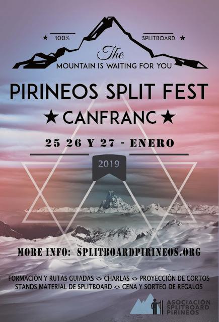 Pyrénées Splitboard Festival Canfranc 2019