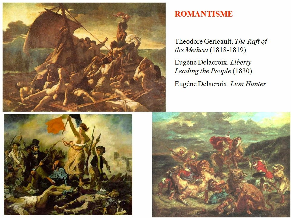 compare the raft of the medusa and liberty leading The enlightenment led to a search to théodore géricault raft of the medusa was depicted allegorically by delacroix in his painting, liberty leading the.