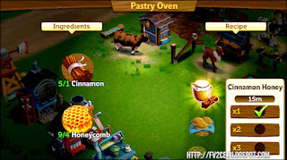 FarmVille 2: Country Escape, Cinnamon Stick, Honey