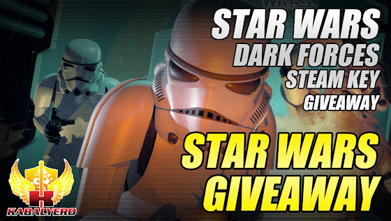 Star Wars Giveaway, Star Wars Dark Forces STEAM Key Giveaway