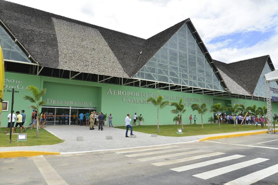 Aeroporto Jericoacoara : O acaraú aeroporto jericoacoara em cruz é inaugurado