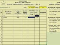 Aplikasi Zakat Fitrah Excel 2007/2010 Gratis