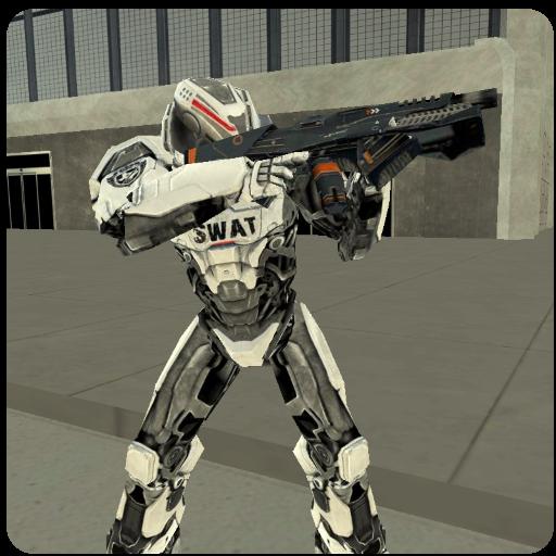 تحميل لعبه Fly Robot Swat مهكره اخر اصدار