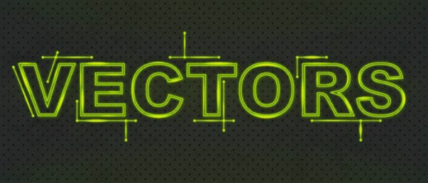 Create a Glowing Fluorescent Text Effect