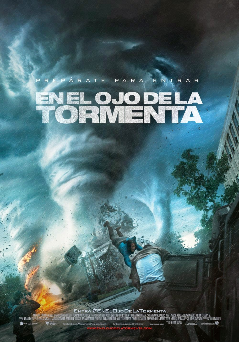 En el ojo de la tormenta Ver gratis online en vivo streaming sin descarga ni torrent