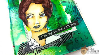OOAK Artisans, Mixed Media Jenn, Art Journal