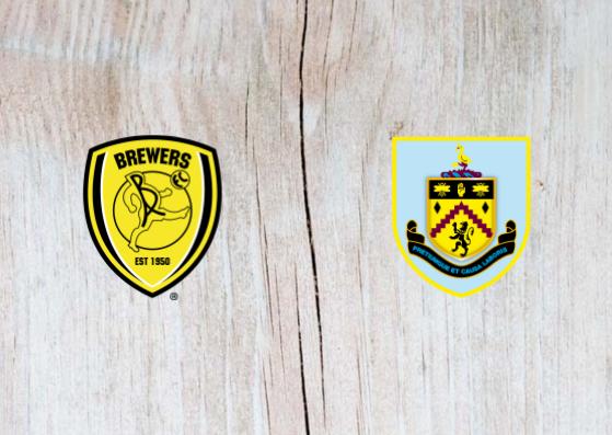 Burton vs Burnley - Highlights 25 September 2018