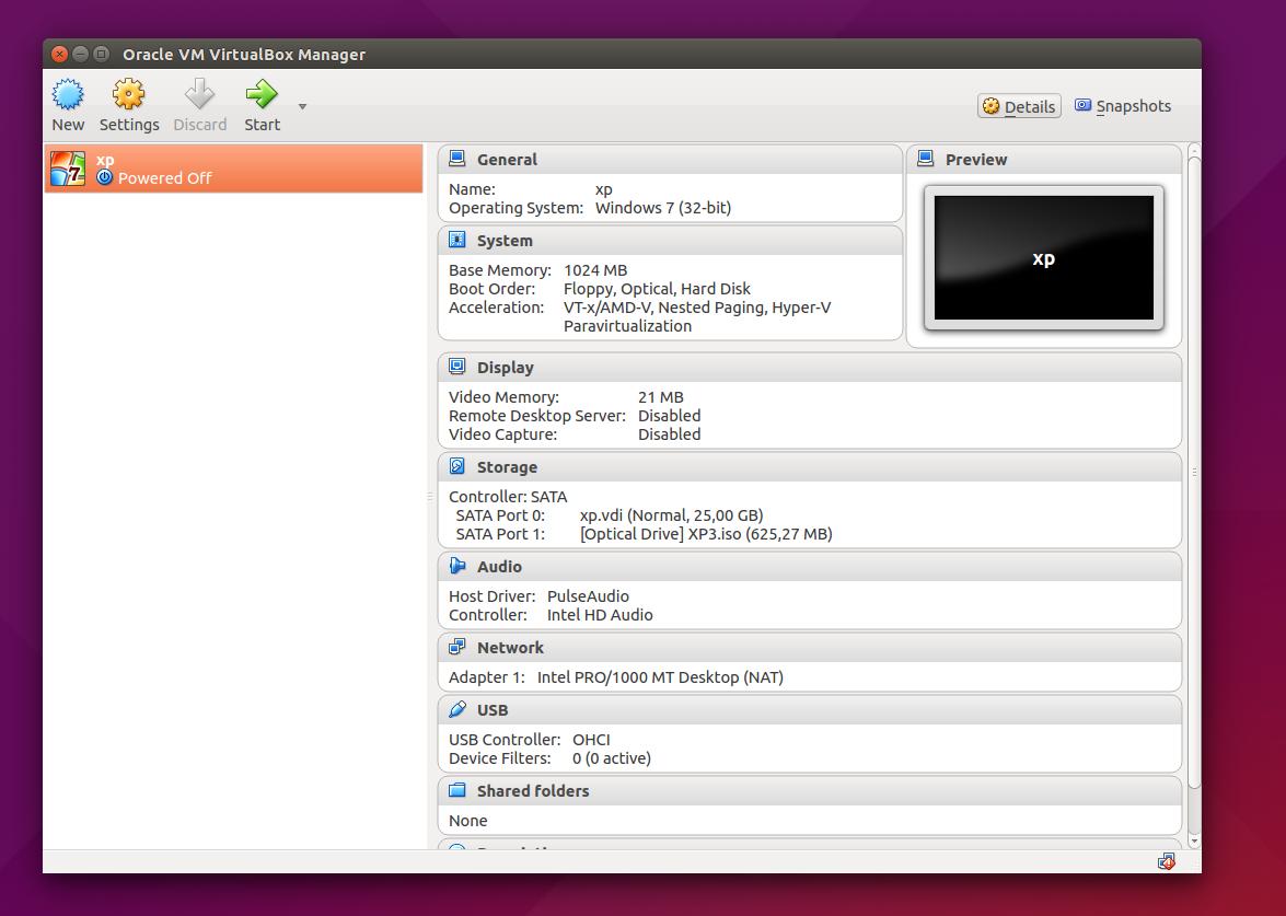 virtualbox 5.0.2