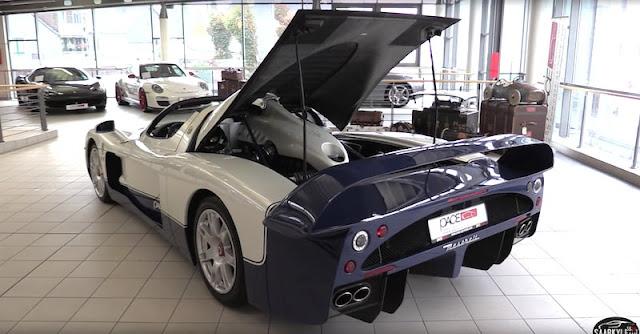 世界に数十台のみの激レア限定車「マセラティMC12」はこんなクルマ!