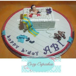 Cozy Cupcakes Bathtub Cake For Abi Albert Magnus