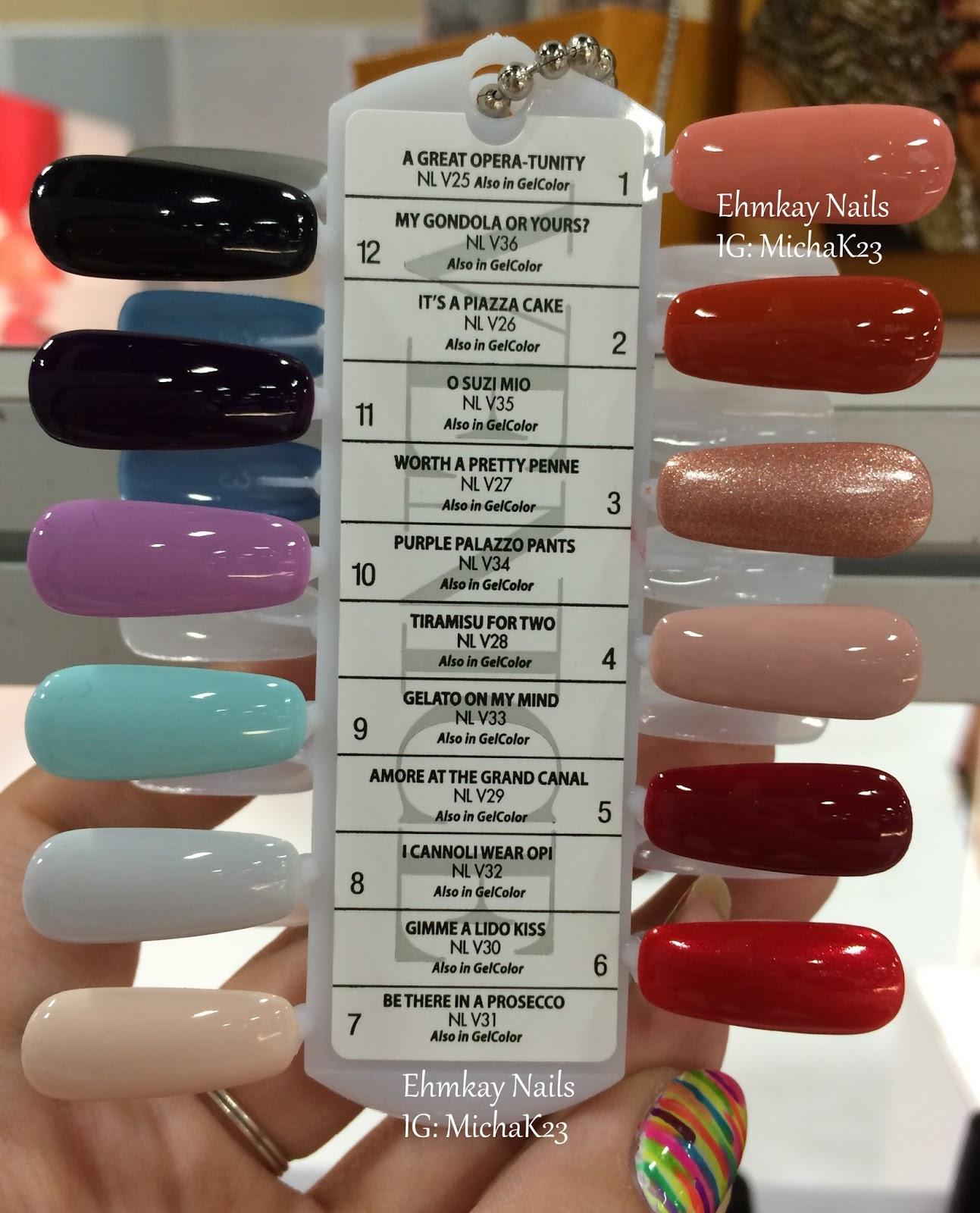 ehmkay nails: Cosmoprof NA 2015 Recap 1: Jessica Cosmetics, Color ...