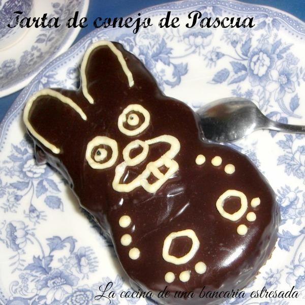 Tarta de conejo de Pascua