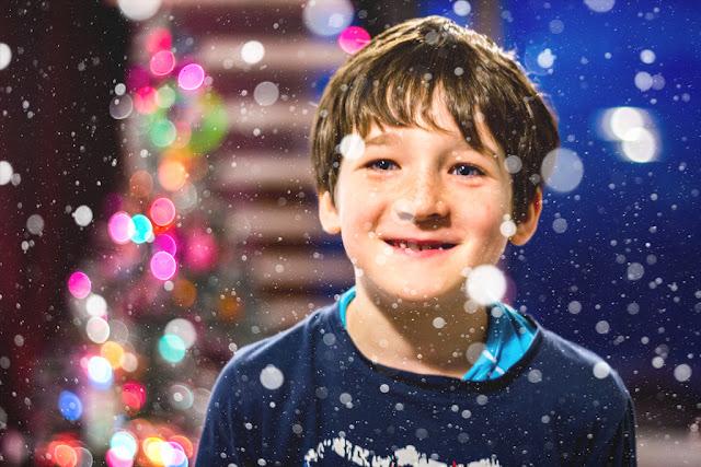 Tutorial: Capa de copos de nieve con Photoshop - Fusión de trama