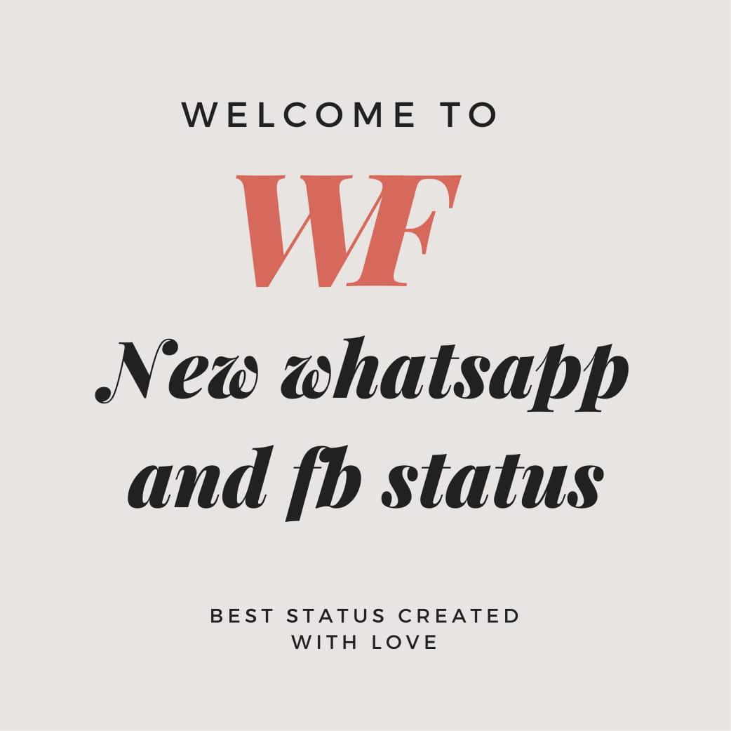 new whatsapp and facebook status