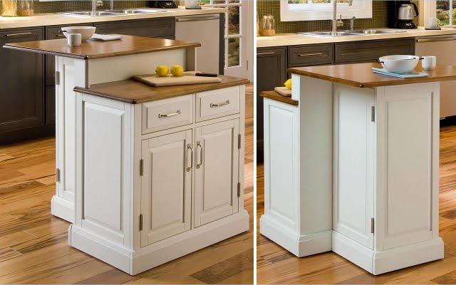 Home Design Between: Mobile Kitchen Island