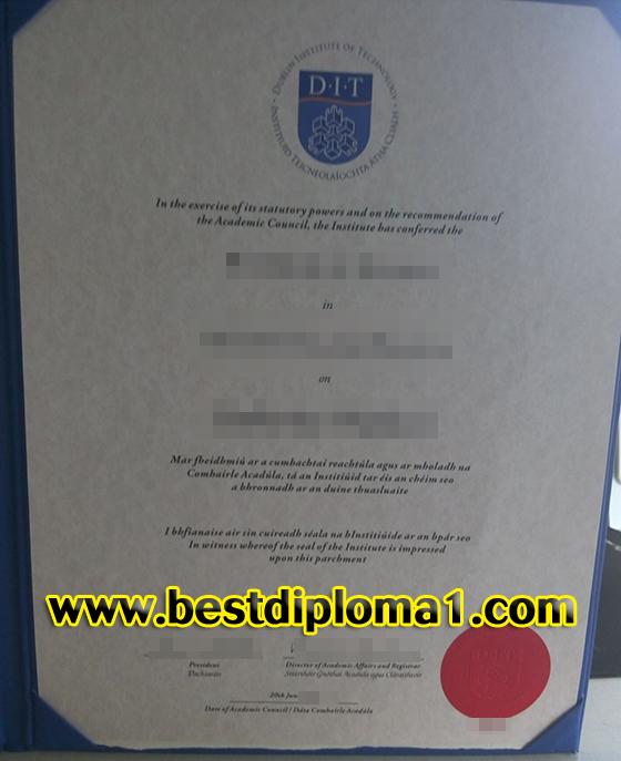 DIT fake diploma