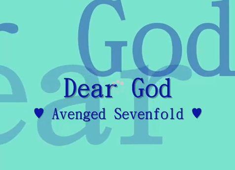 Kata Kata Cinta Mutiara Chord Dan Kunci Gitar Avenged Sevenfold Dear God