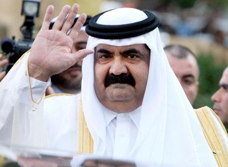 وفاة الشيخ خليفة بن حمد ال ثانى ، اعلان الحداد في قطر
