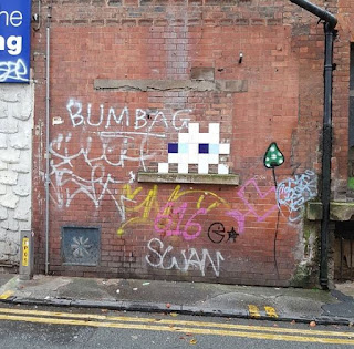 Space Invader MAN_45 in Manchester - 50 points