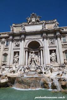 Fontana di Trevi  num dia lindo