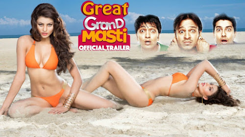 Poster of Great Grand Masti 2016 Theatrical Official Trailer Free Download HD 720P