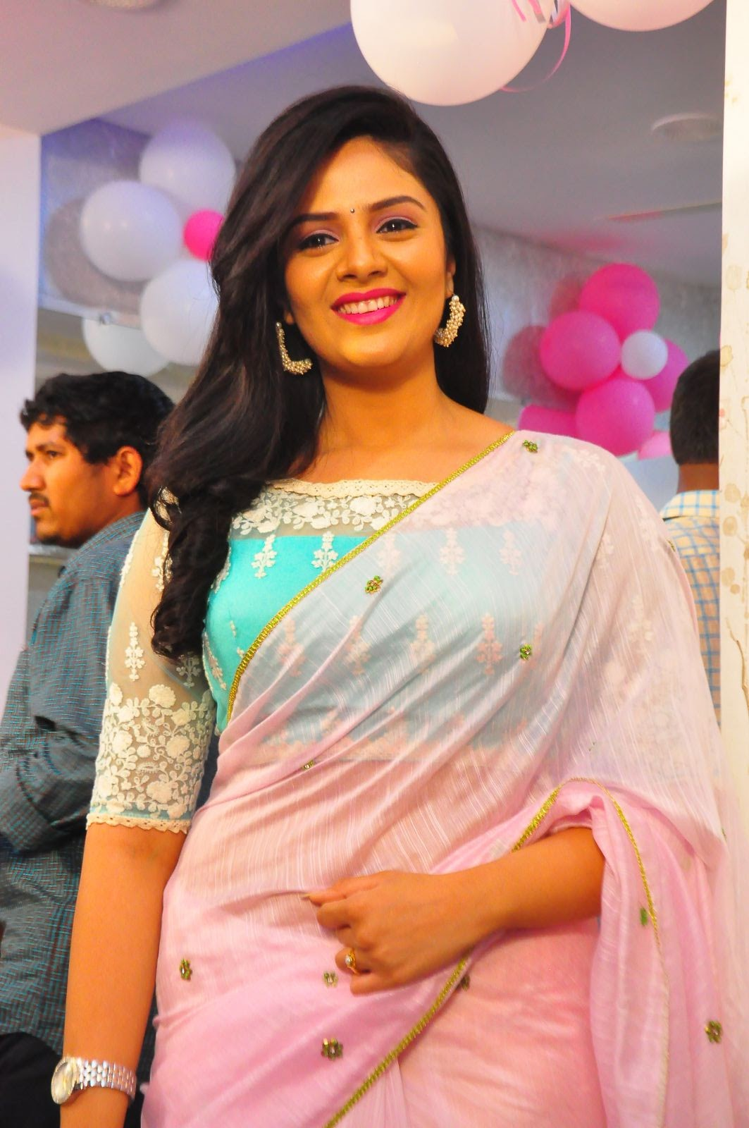 Srimukhi at Manvis launch event-HQ-Photo-5