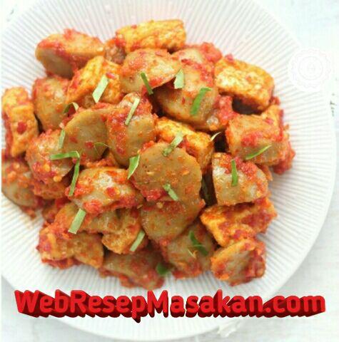 Bakso Sambalado, Resep bakso sambalado,