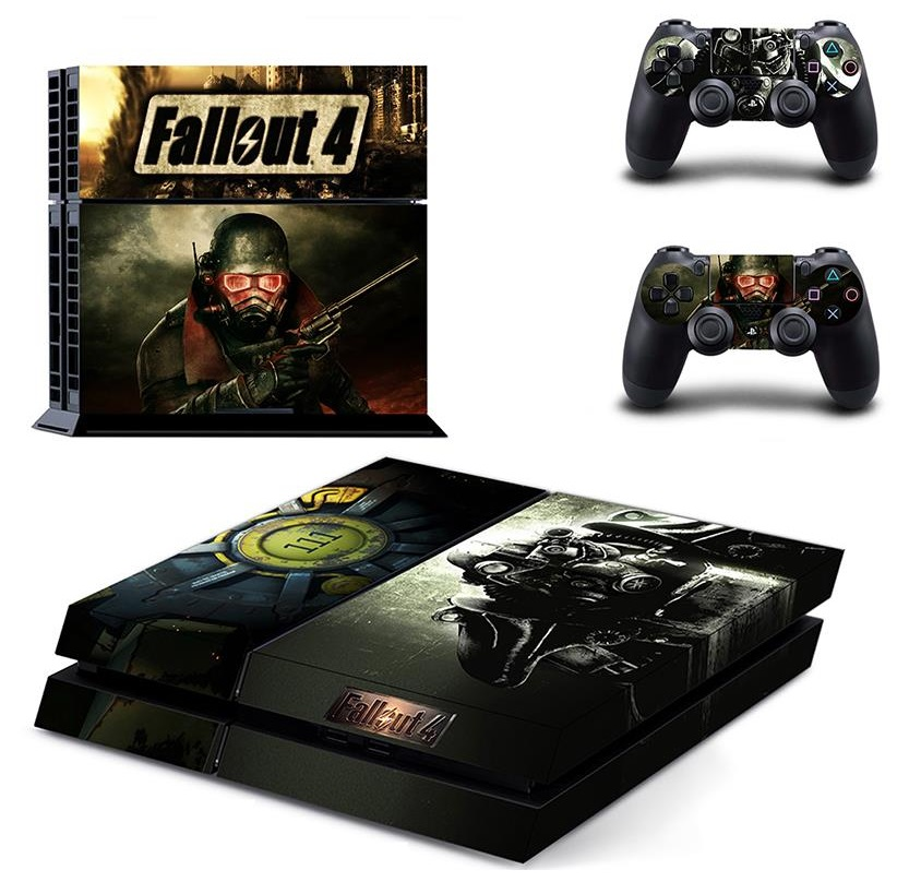 Fallout 4 ps4 playstation 4 skin vinyl sticker for consoles - What consoles will fallout 4 be on ...